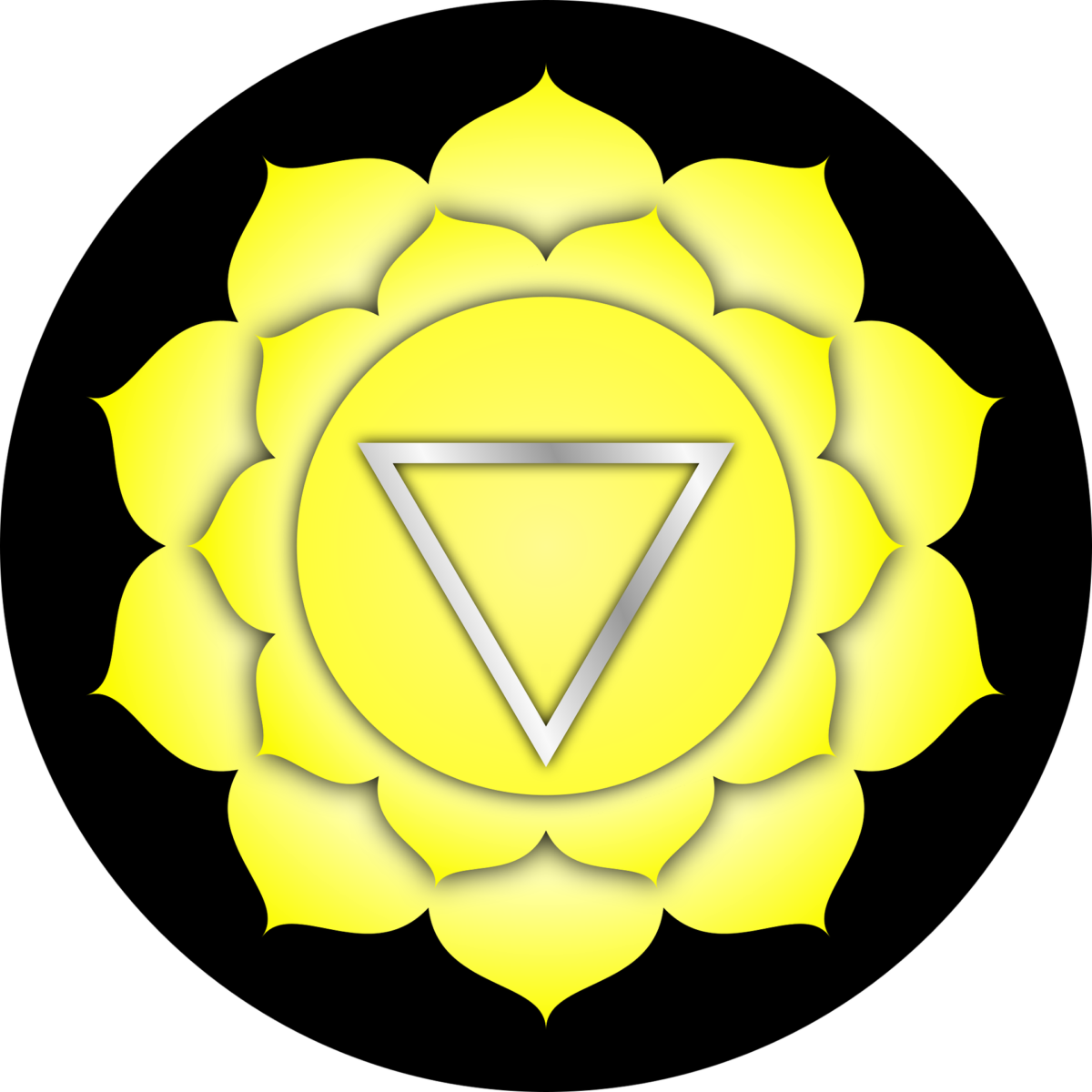 3. Chakra, das Solarplexuschakra